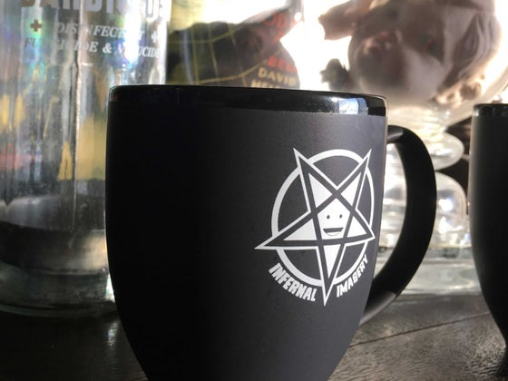 Image of Happy Pentagram Coffee Mug