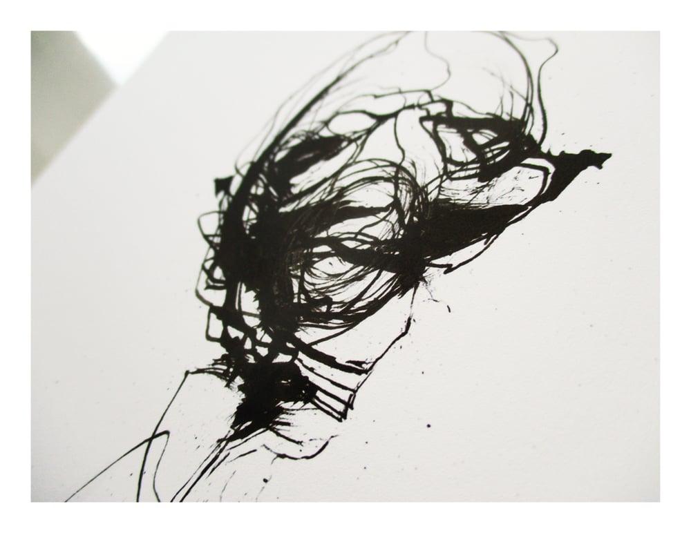 Image of Black Flower 21 Mini Print