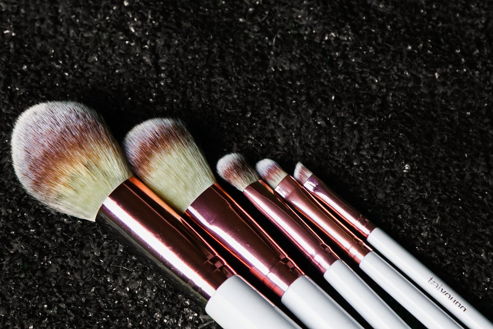Image of 5 Steps to Flawless Vegan Brush Set