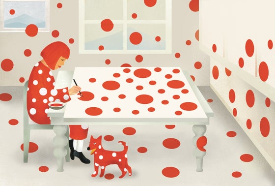 Image of Yayoi Kusama: From Here to Infinity, published by MoMA. Obliteration Room