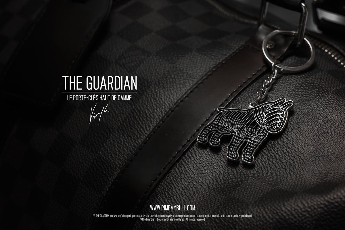 "Image of PORTE-CLÉS - THE GUARDIAN ""BLACK EDITION"" LIMITED EDITION"