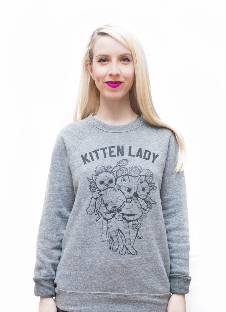 Image of Kitten Bouquet Sweatshirt