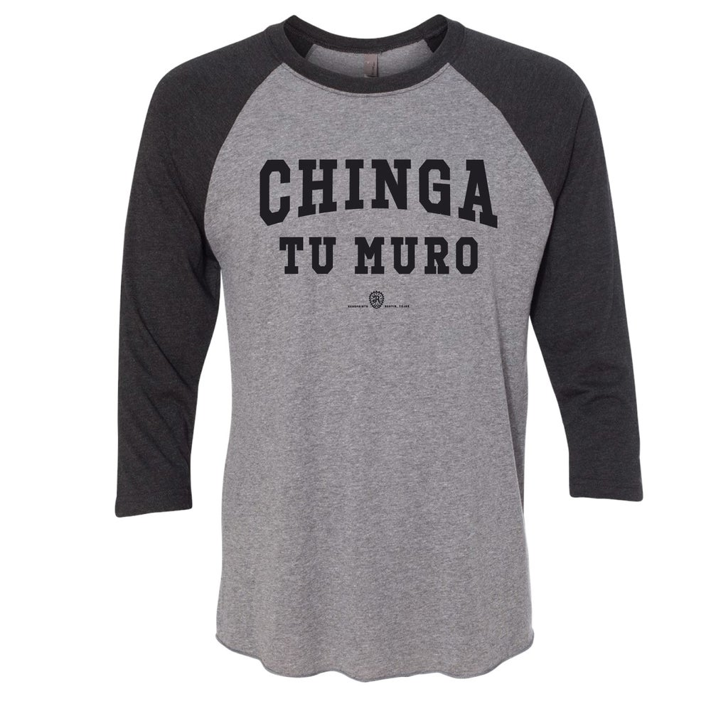 Image of CHINGA TU MURO (BASEBALL TEE)