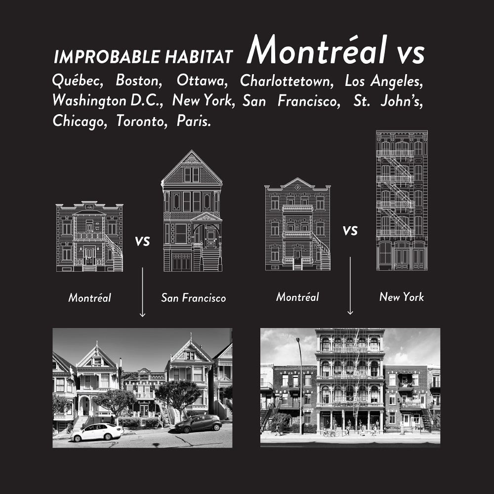 Image of IMPROBABLE HABITAT - MTL VS - HALF