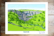 Image of MALHAM COVE - COLOUR