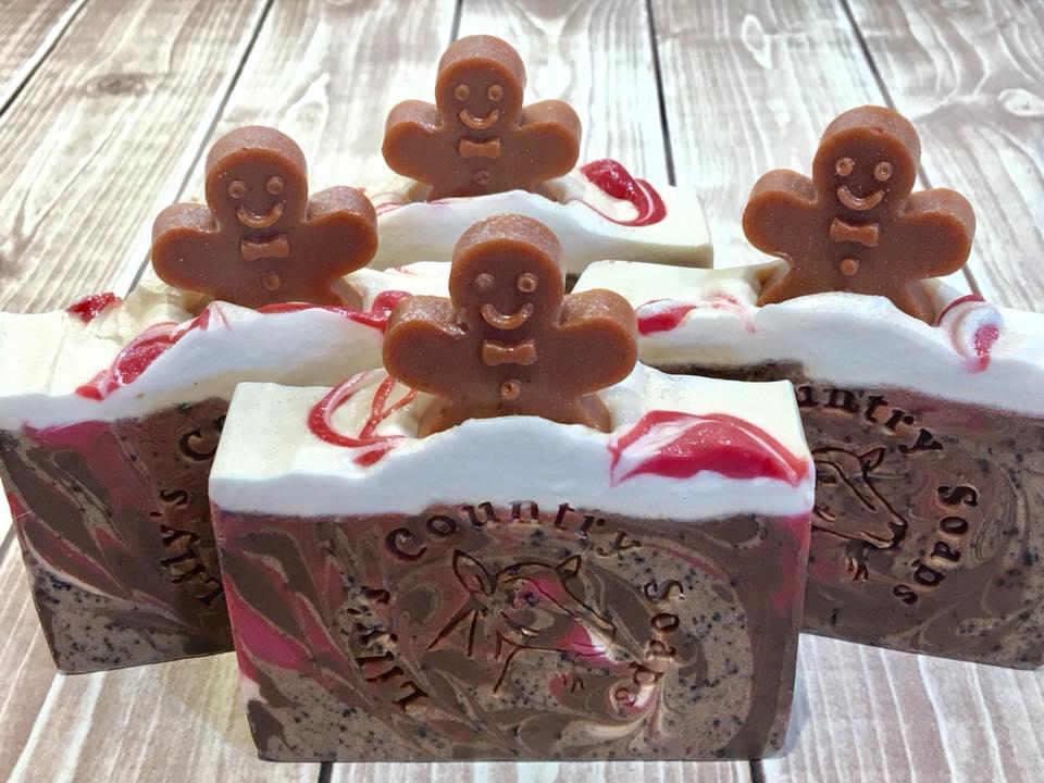 Image of Gingerbread Graham Goat Milk Soap