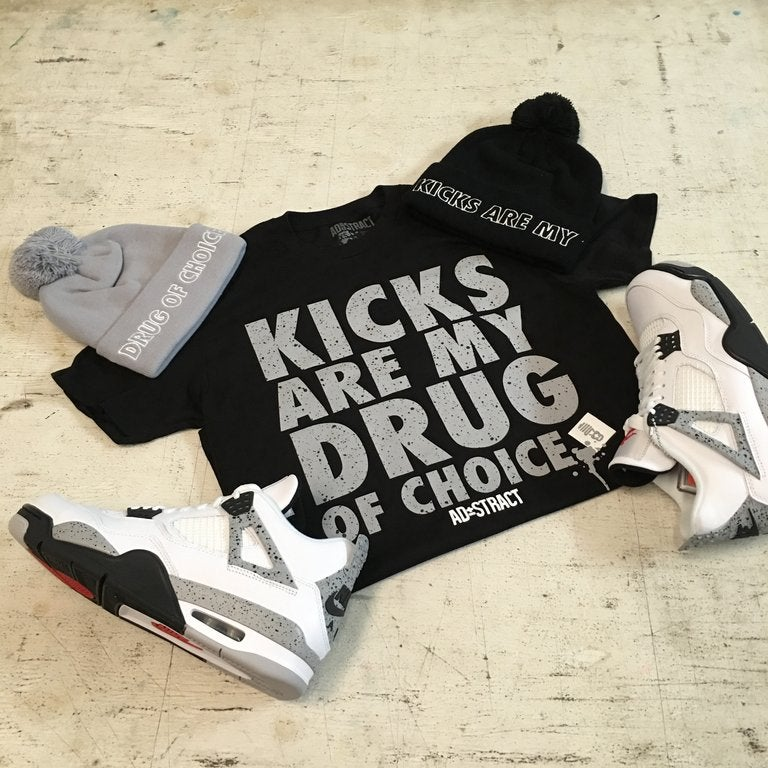 "Image of KICKS ""CEMENT"" TSHIRT"