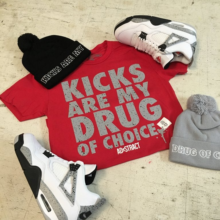 "KICKS ""CEMENT"" TSHIRT"