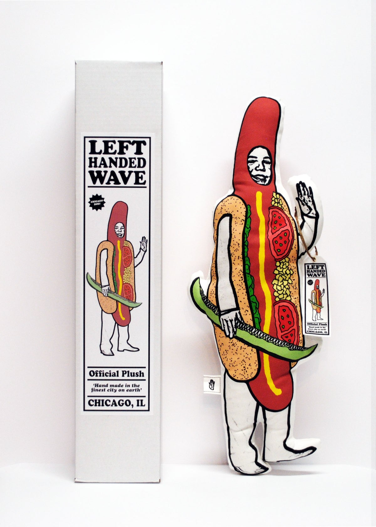Image of Chicago Hotdog Plush