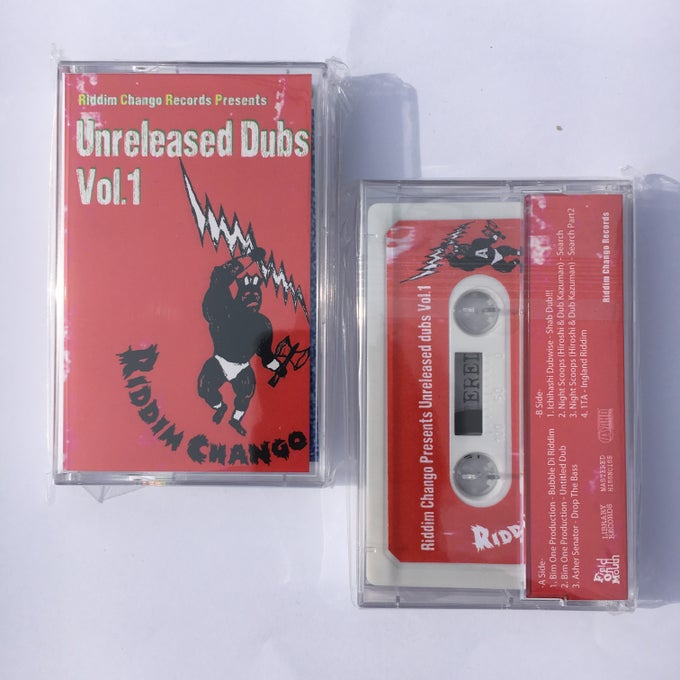 Image of Unreleased Dubs Vol.1 Cassette Tape