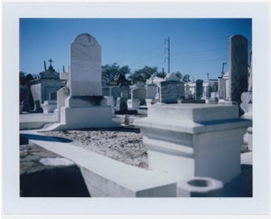 Image of Cemetery & Power Lines