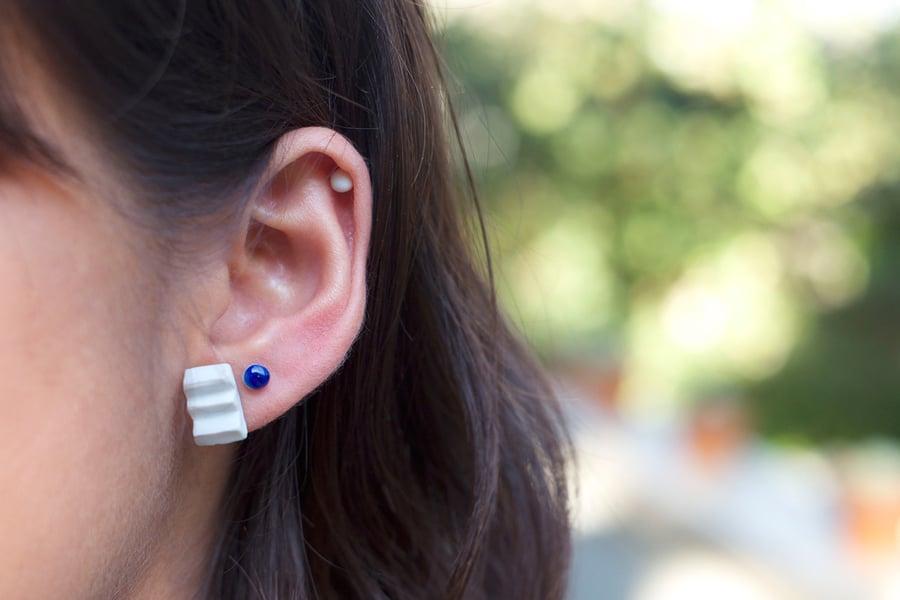 Image of zigzag earring