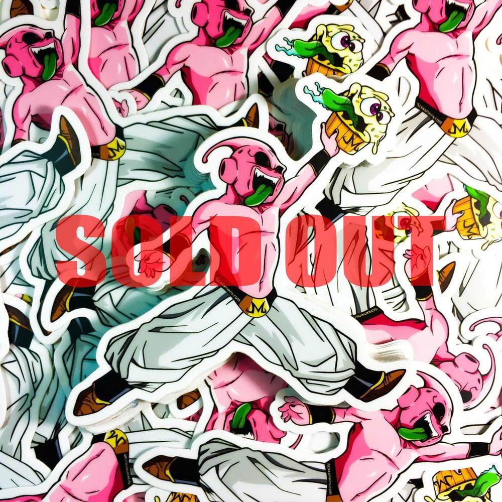 "Image of 4"" CupcakeBuu Sticker"