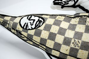 Image of LV Damier Azur Banana Plush