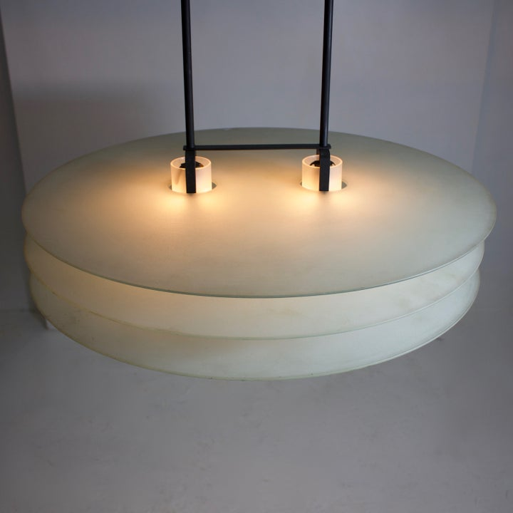 Image of Italian Postmodern Pendant Light by Quattrifolio