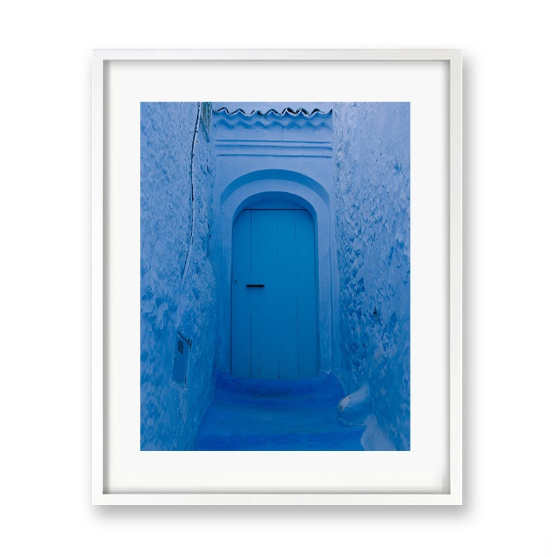 Image of Blue door, Chefchaouen - Morocco