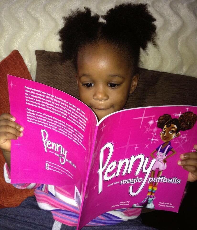 Image of Autographed copy of Penny and the magic puffballs