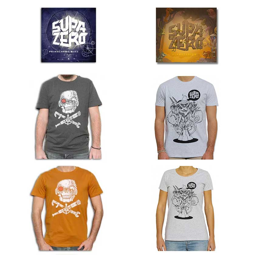 Image of Pack CD<br /> + <br />Tee Shirt