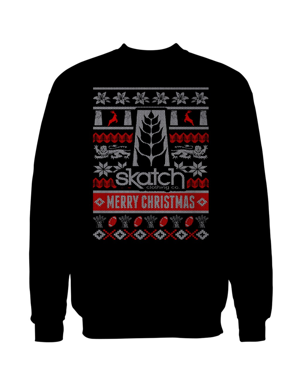 Image of Ugly Saskatchewan Christmas Sweater