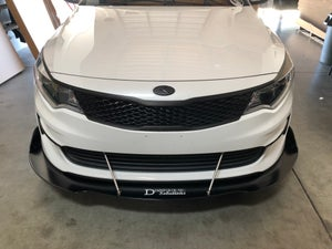 Image of 2012-2016 Kia Optima front splitter