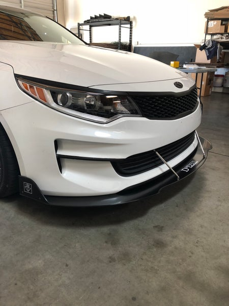 Image of 2012-2018 Kia Optima front splitter