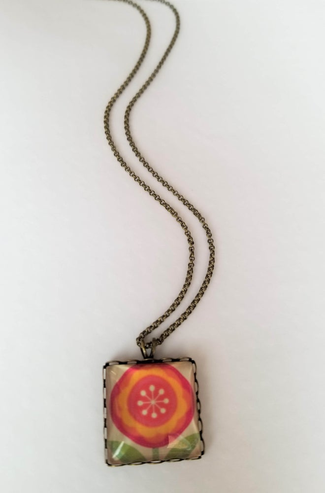 Image of Lollipop Flower Necklace