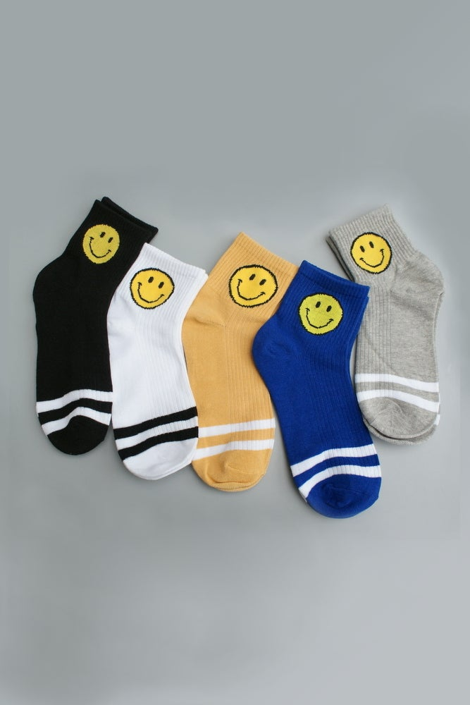 Image of SMILEY ATHLETIC SOCKS