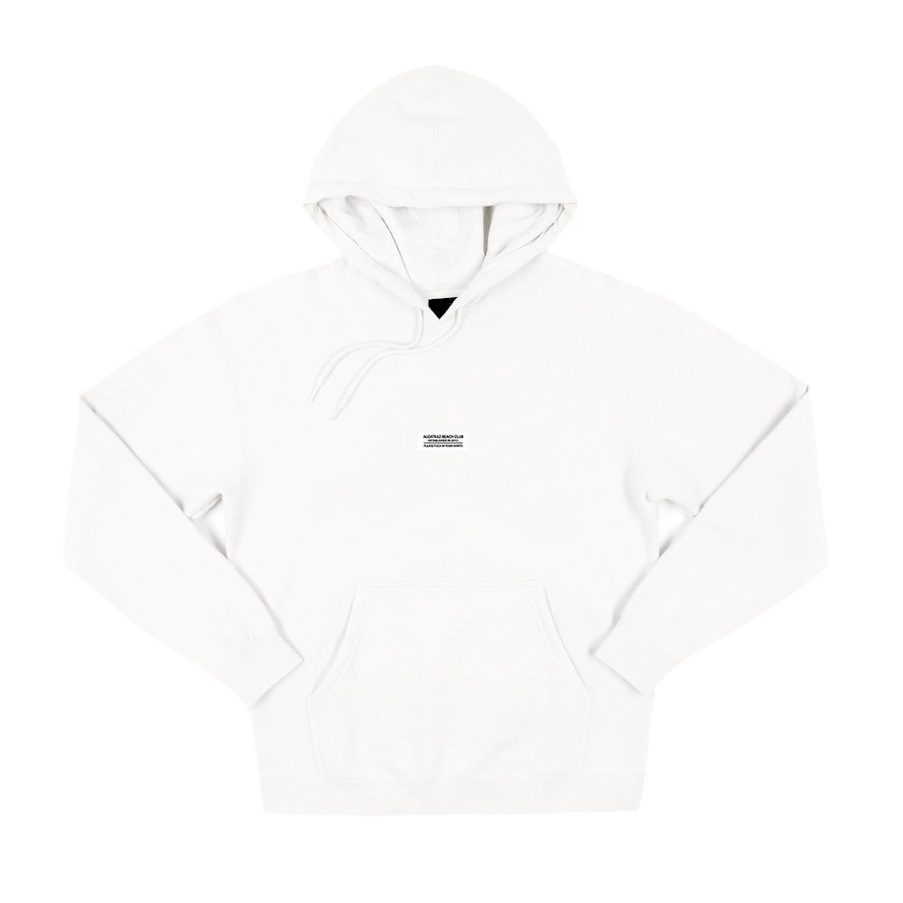 Image of White Label Hoodie