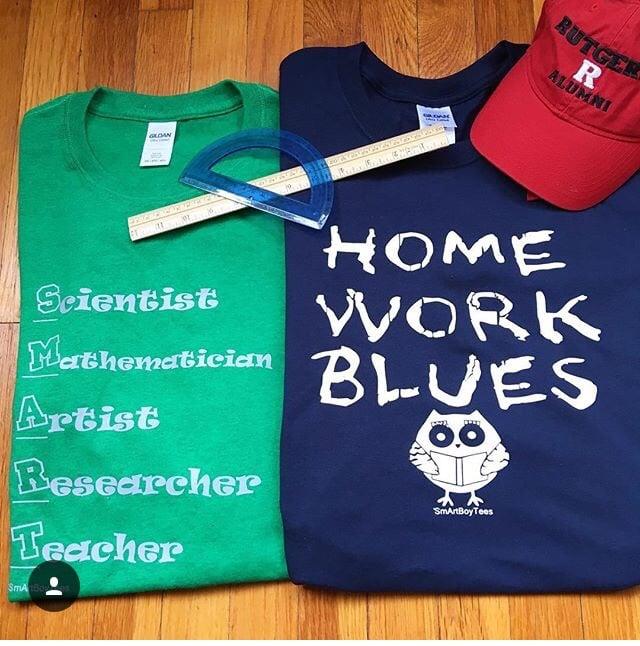Image of Homework Blues / Smart Career Tee Sweatshirt Hoodie & Sport Bag