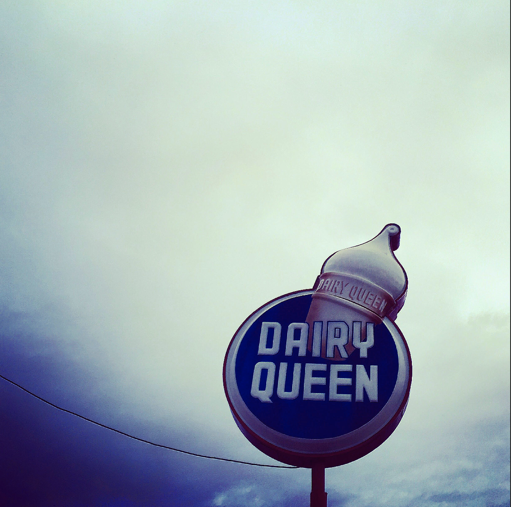 Image of Dairy Queen, Route 66. Williams, AZ, 2016.