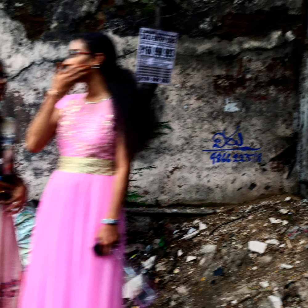 Image of Pink Dress, Kolkata, India 2017