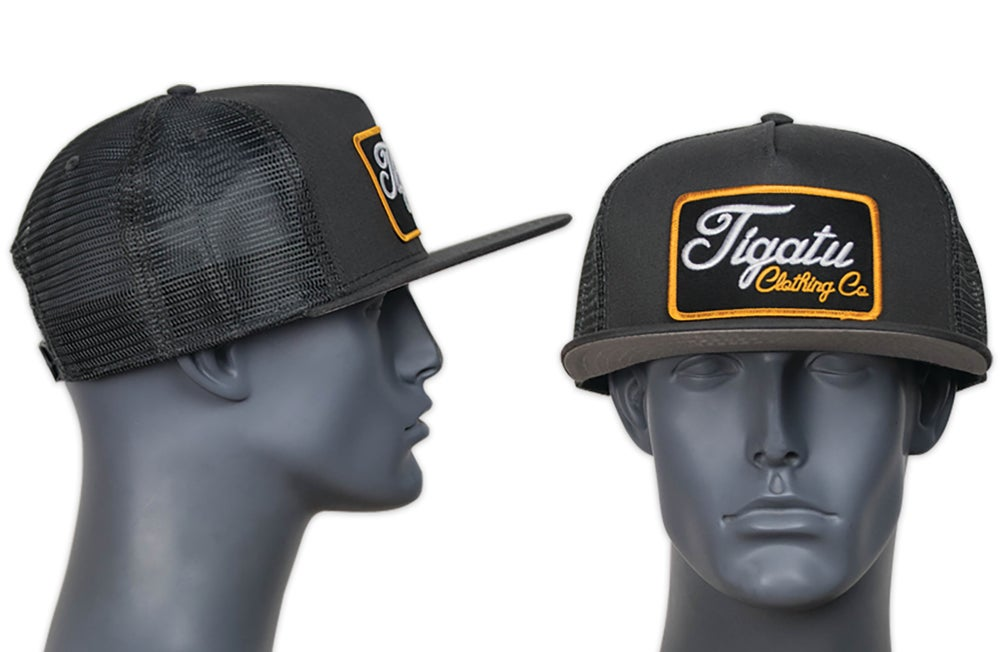"Image of ""Golden Hour"" Grey Flatbill SnapBack"
