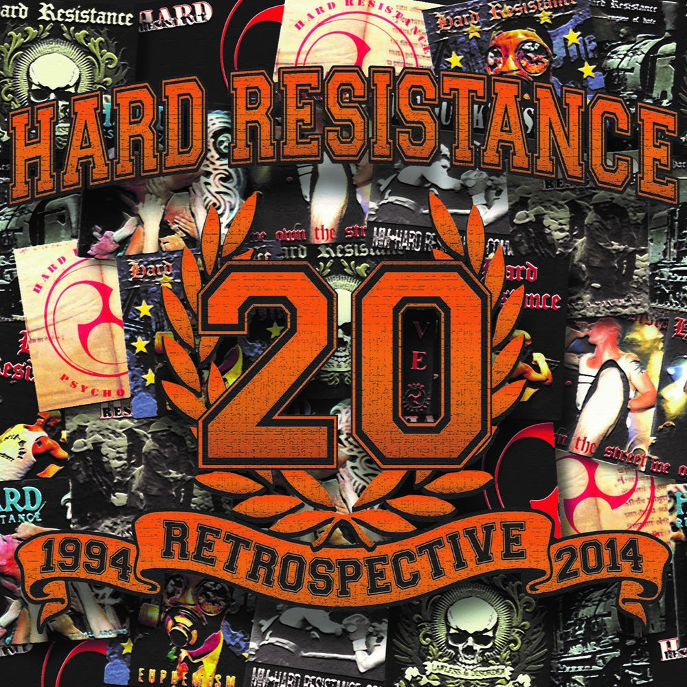 Image of Hard Resistance - 1994 Retrospective 2014 (2 CD) Digipack
