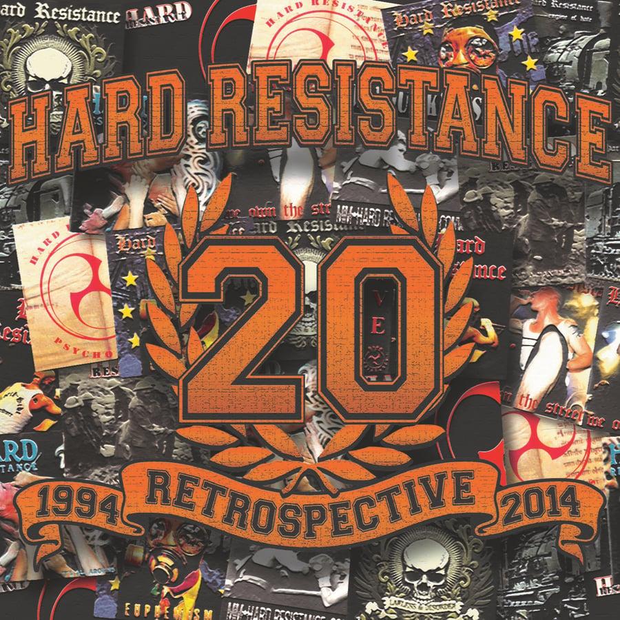 Image of Hard Resistance - 1994 Retrospective 2014 (2 CD) Digipack