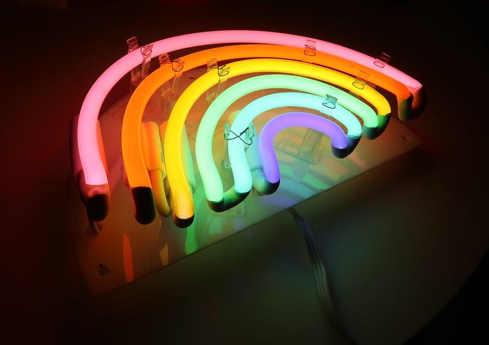 Image of Neon Rainbow