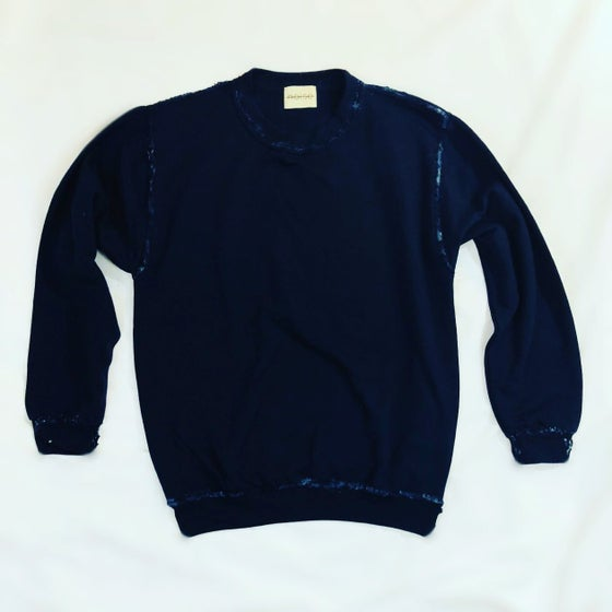 Image of Women's Navy Crew Sweatshirt