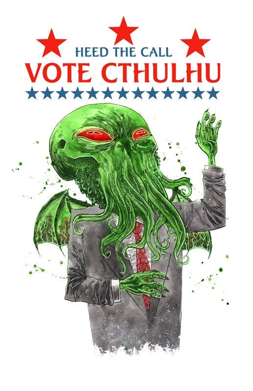 Image of VOTE CTHULHU