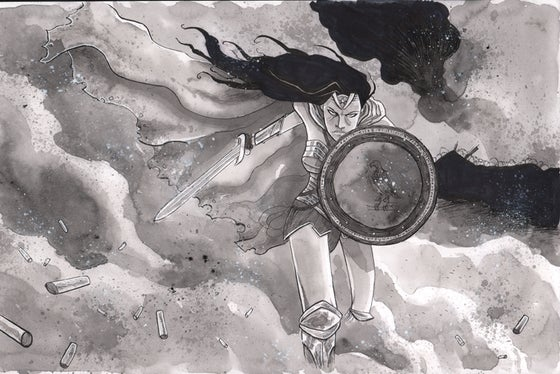 Image of WONDER WOMAN ORIGINAL ART