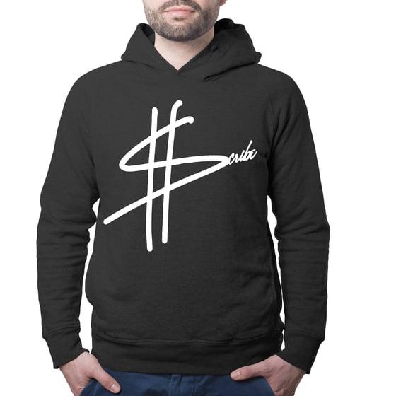 Image of Black ScribeCash Logo Hoodie
