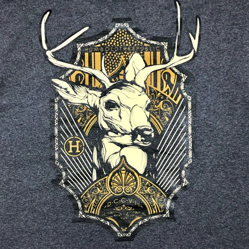 "Image of ""Blacktail"" Men's Heavyweight Tee"