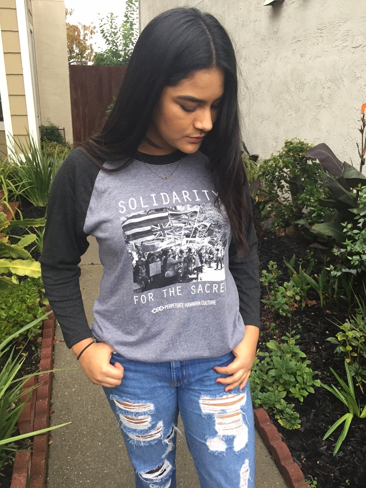 Image of Solidarity Unisex Raglan