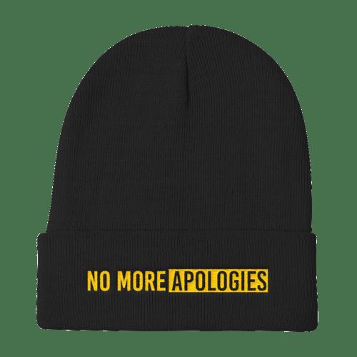 Image of No More Apologies Hat (Skull Cap)