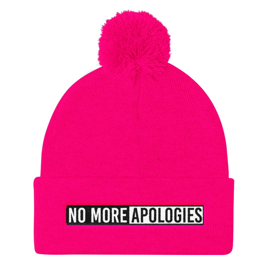 Image of No More Apologies Hat (Skull Cap)