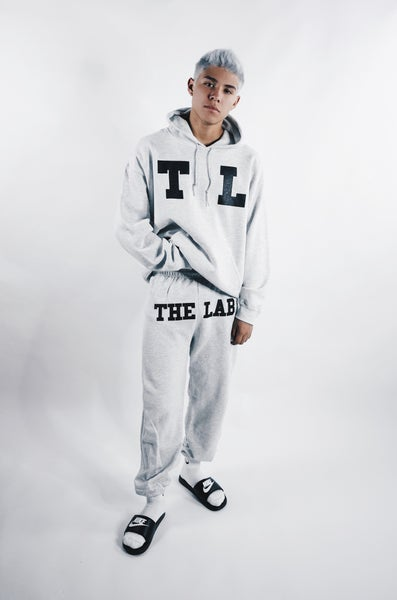 Image of TL 23 Closed Bottom Sweats Grey