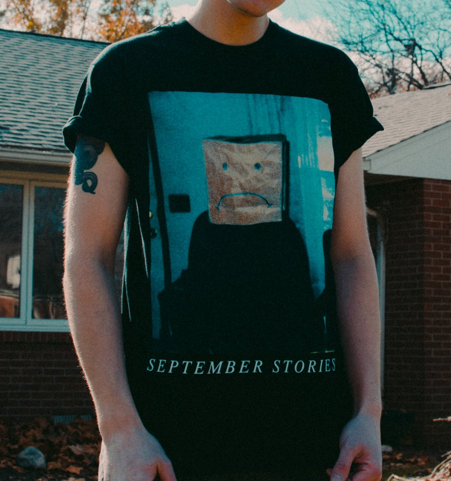 "Image of ""Home."" Black T-Shirt"