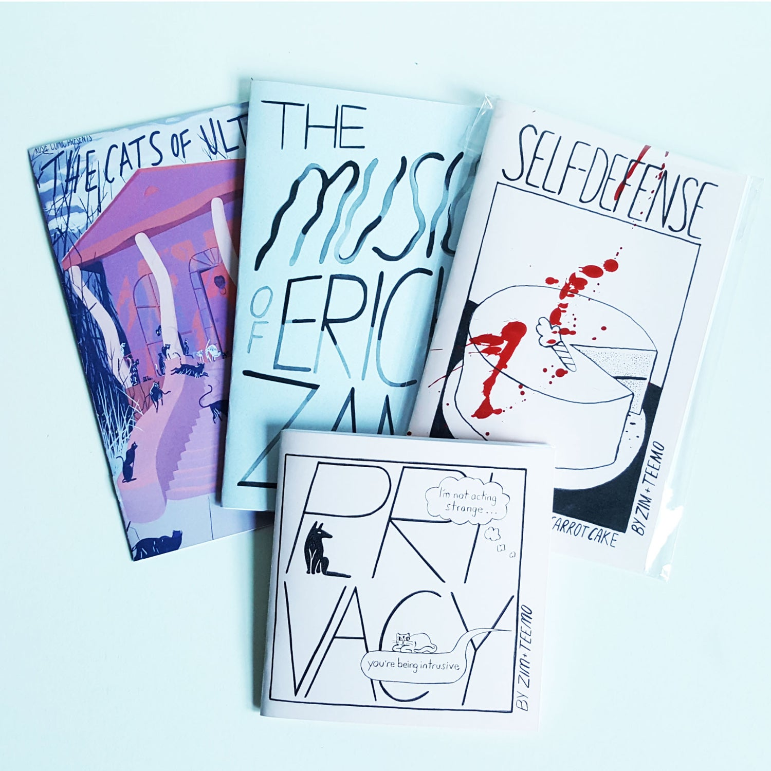 Image of Zine Pack
