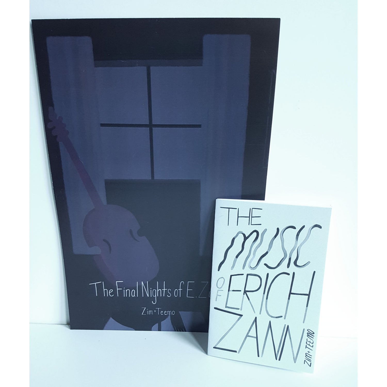 Image of The Music of Erich Zann Zine and Double Sided Poster Combo