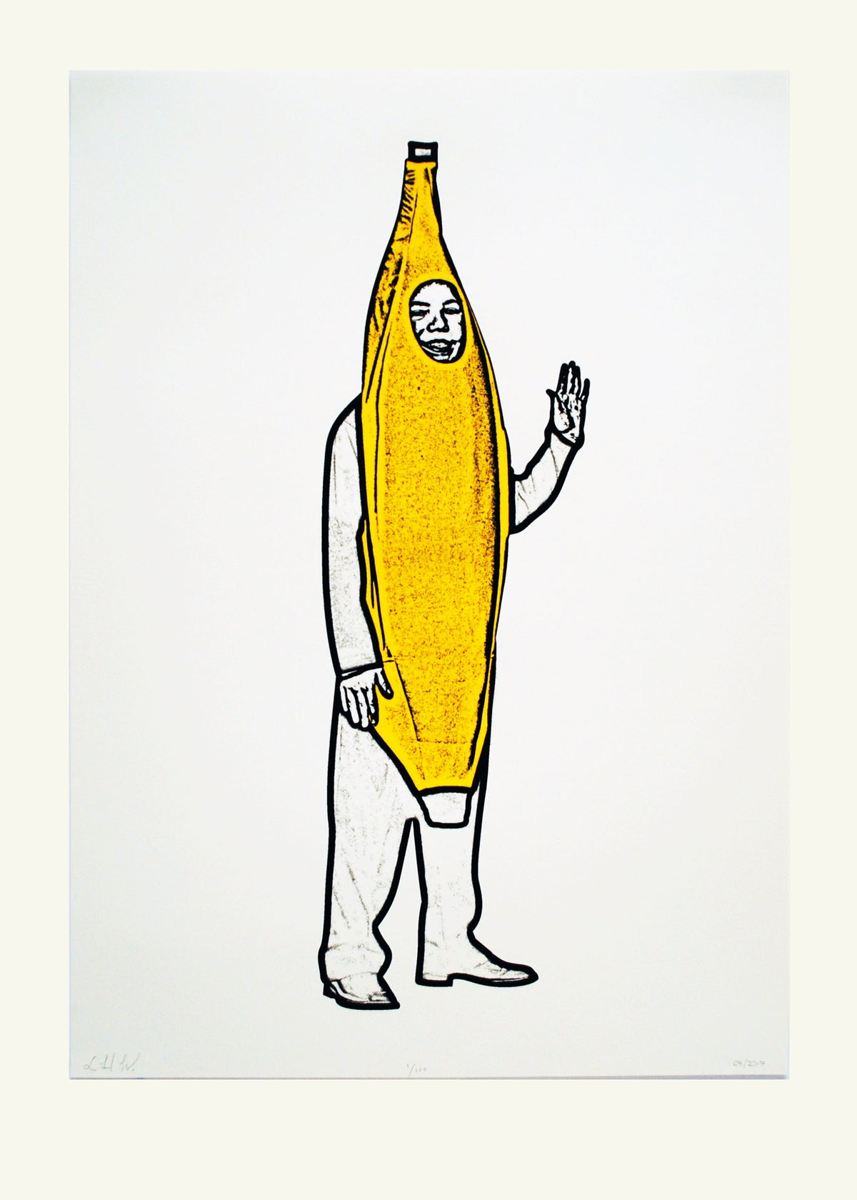 Image of Banana Icon Screen Print