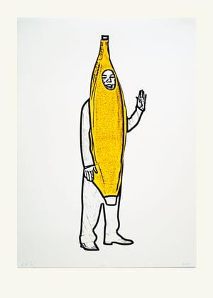 Image of Banana Icon Screen Print