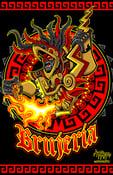 Image of Brujeria x Hernandez Huitzilopochtli art print